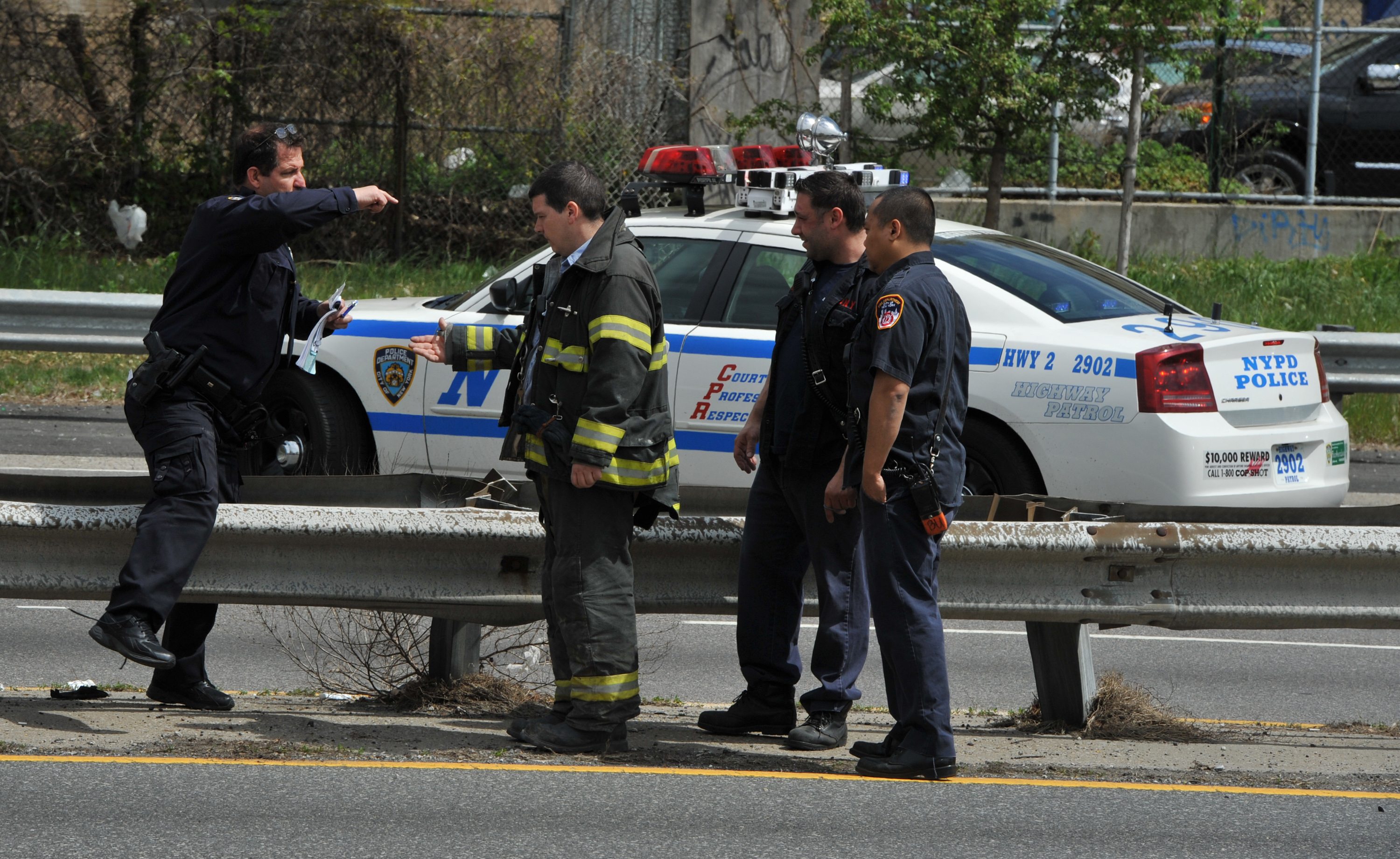 Belt Parkway Four Car Accident  |