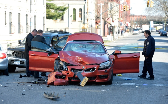 Motor vehicle accident for Motor vehicle in brooklyn